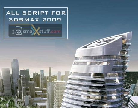 All scripts  for 3dsmax 2009