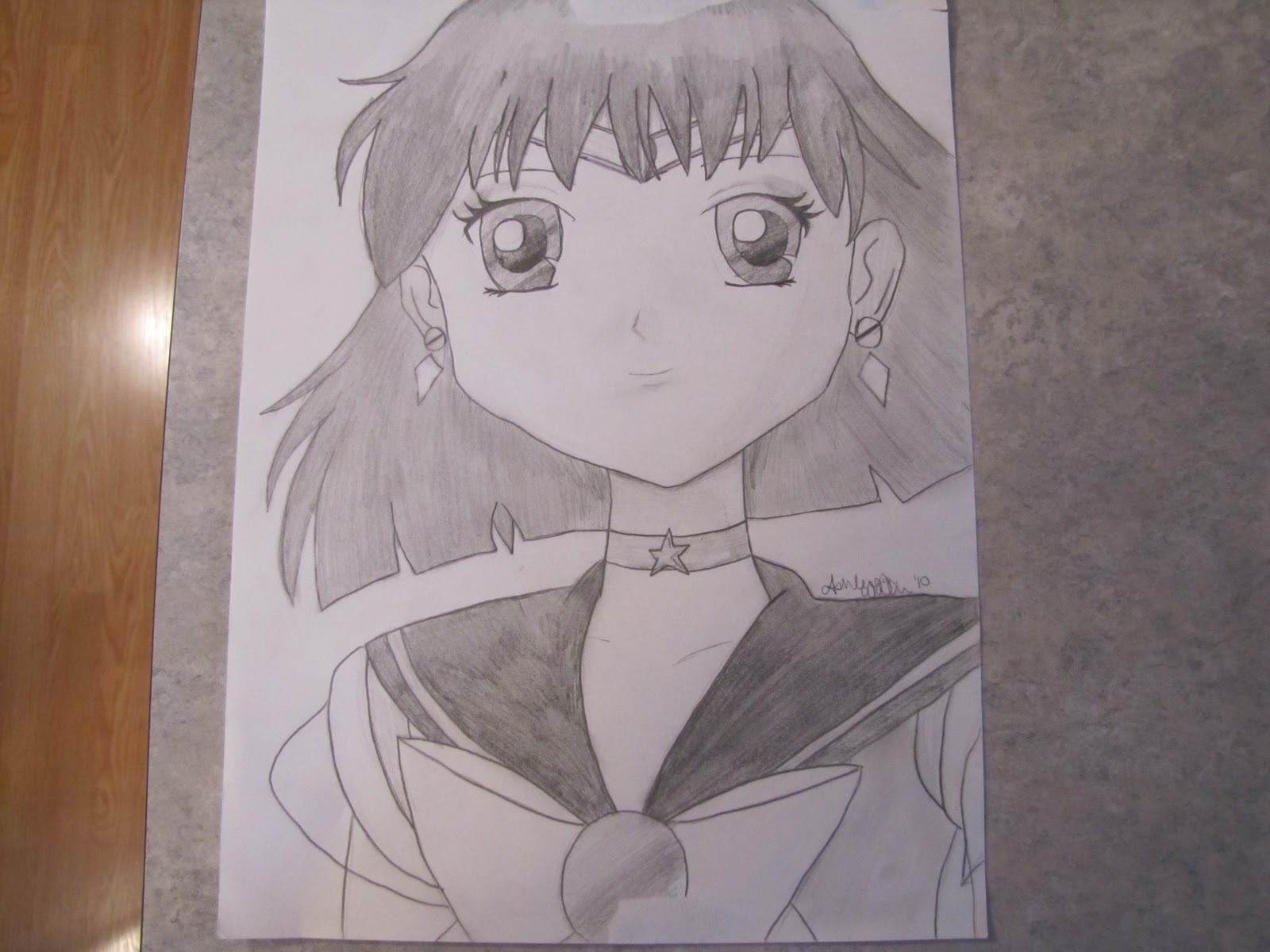 Anime pencil drawing pictures How to Draw - Instructables
