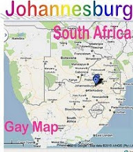 Gay Johannesburg Map