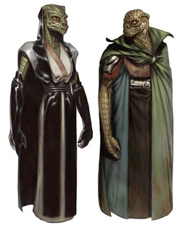 Species of Starwars: Trandoshan
