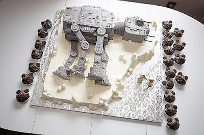 AT-AT Wedding Cake!