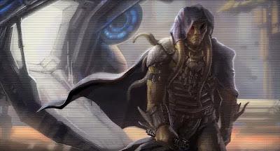 Eison Gynt, possessed by Naga Sadow