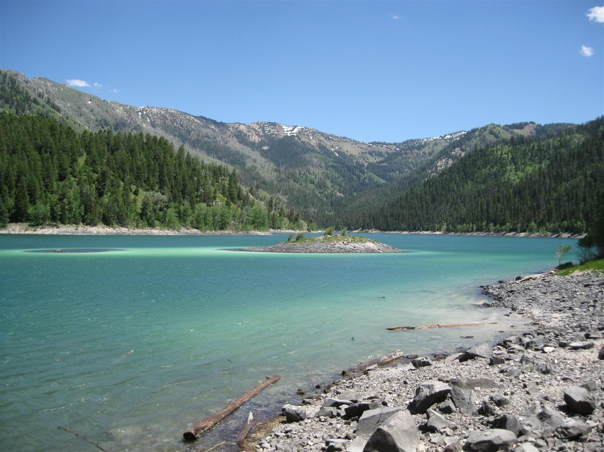 Palisades Trail Idaho Upper Palisades Lake Idaho at