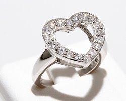 Anello cuore, Anelli, Cuore, Argento, Fidanzamento, Amore