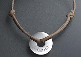Braccialetti con nome, braccialetti personalizzati, gioielli argento, gioielli oro