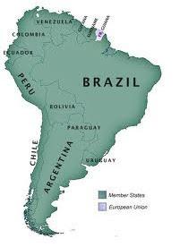 """Dél-Amerikai Unió"" tervezett unió (UNASUR), ComunidadAndina.org"