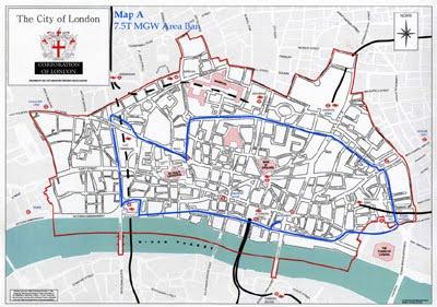 The City of London rendkívül részletes térkép (katt a képre)