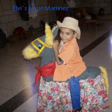 Elvis en su Burriquita.