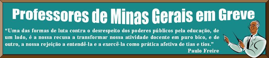 greve dos professores de Minas Gerais