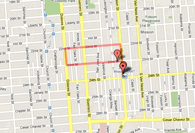 How Much Is A Mile >> 1 Mile In Mission Dolores