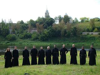 Церковный хор Православные певчие - басы-профундо