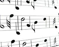 Так записываются ноты на бумаге