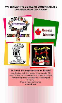 XVII Encuentro de Radios de Canada