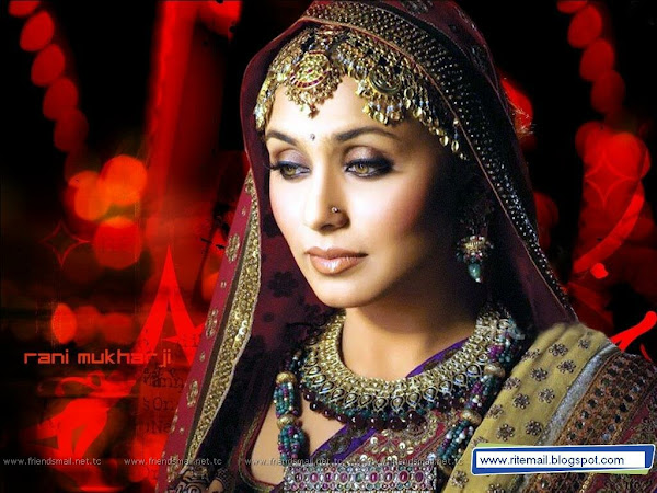 bollywood Top Ten Actress rani mukherjee ritemail.blogspot.com 001 Rani Mukherjee photo sexywomanpics.com