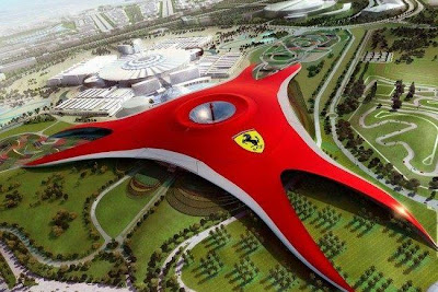 Ferrari Park in Abu Dhabi