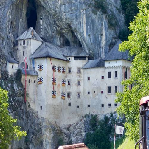 Predjamski Castle: Integrated in a Cave