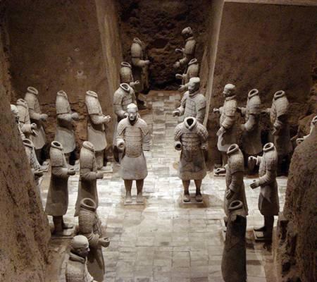 Generales de Qin Shi Huang