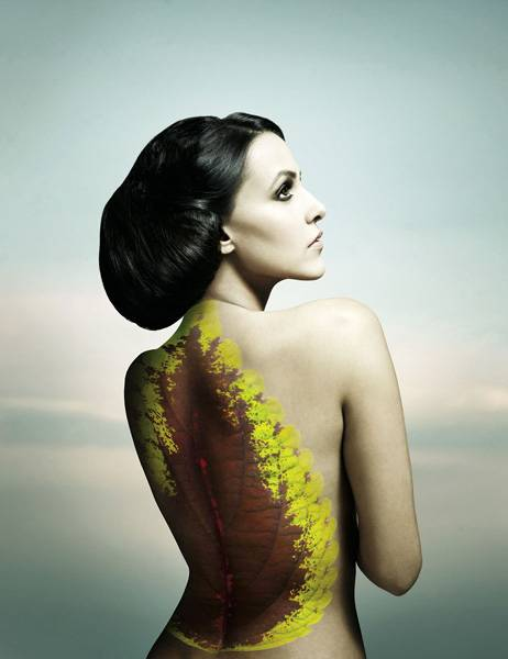 Neha Dhupia for Go Green calendar Photoshoot