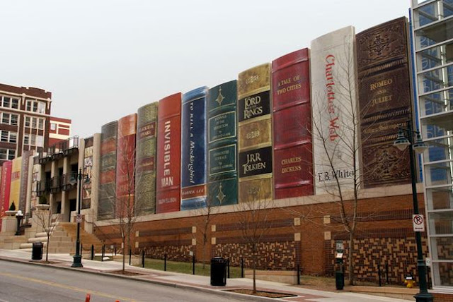 The public library in Kansas City, USA