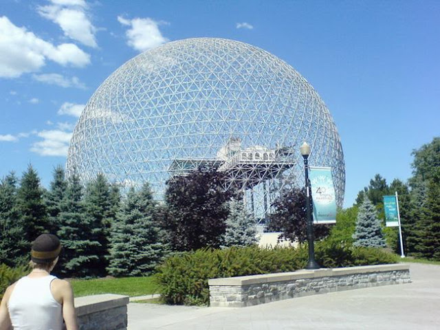 Montreal biosphere. Montreal, Canada