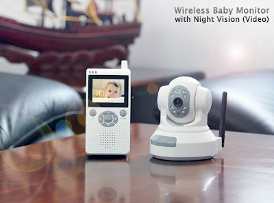 wireless baby monitor w night vision krunal shah. Black Bedroom Furniture Sets. Home Design Ideas