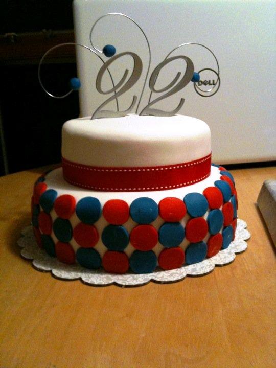 I Design Stephanies 22nd Birthday On July 4th
