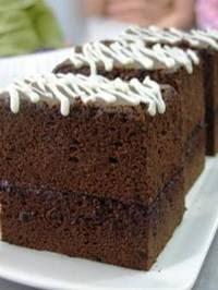 Coklat Brownie Cotton Cake - http://resep-masakan-sehat.blogspot.com/