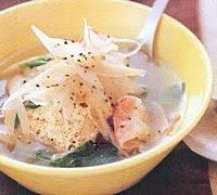 resep Sup Tofu Bawang