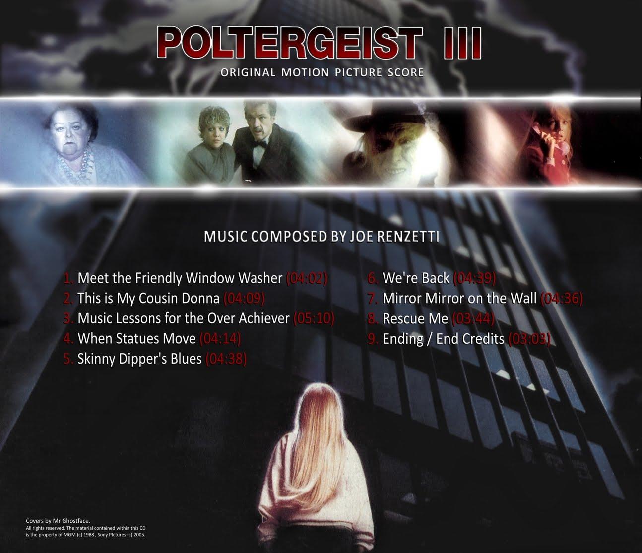 The Inferno Music Vault: UPDATE: Poltergeist III (1988 ...