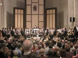 Concierto de la BAT en el Auditorio San Francisco, de Ávila
