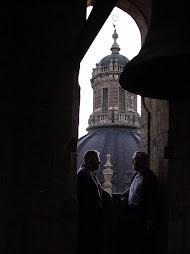 fotos de lujo de Benito González desde la torre de La Clerecía