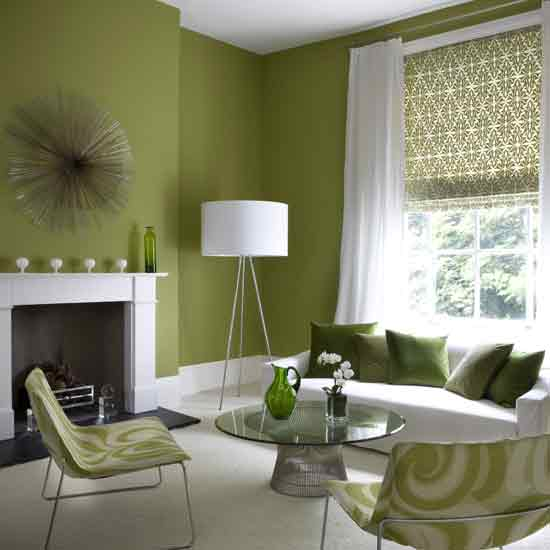 Green Room Colors Amazing With Modern Green Living Room Photos