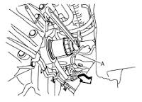 Nissan D40 oil filter change