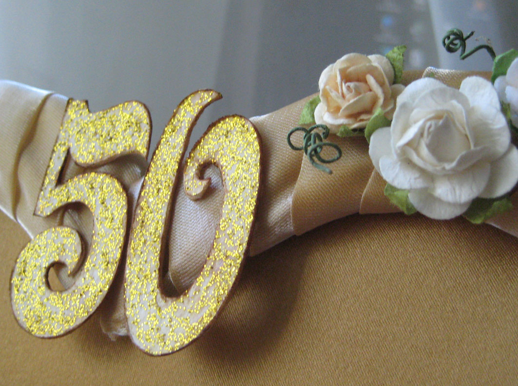 Kt - Ручная работа: Золотая свадьба Фон Для Открытки Винтаж