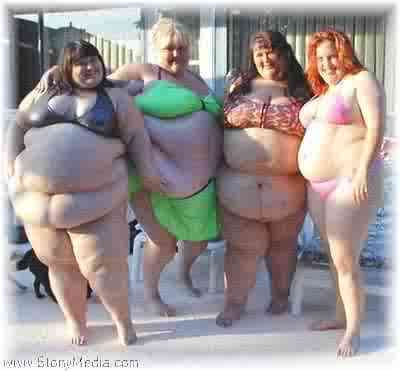 Fat Chicks In Thongs