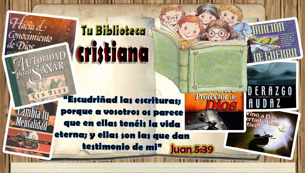 BIBLIOTECA DE LIBROS CRISTIANOS
