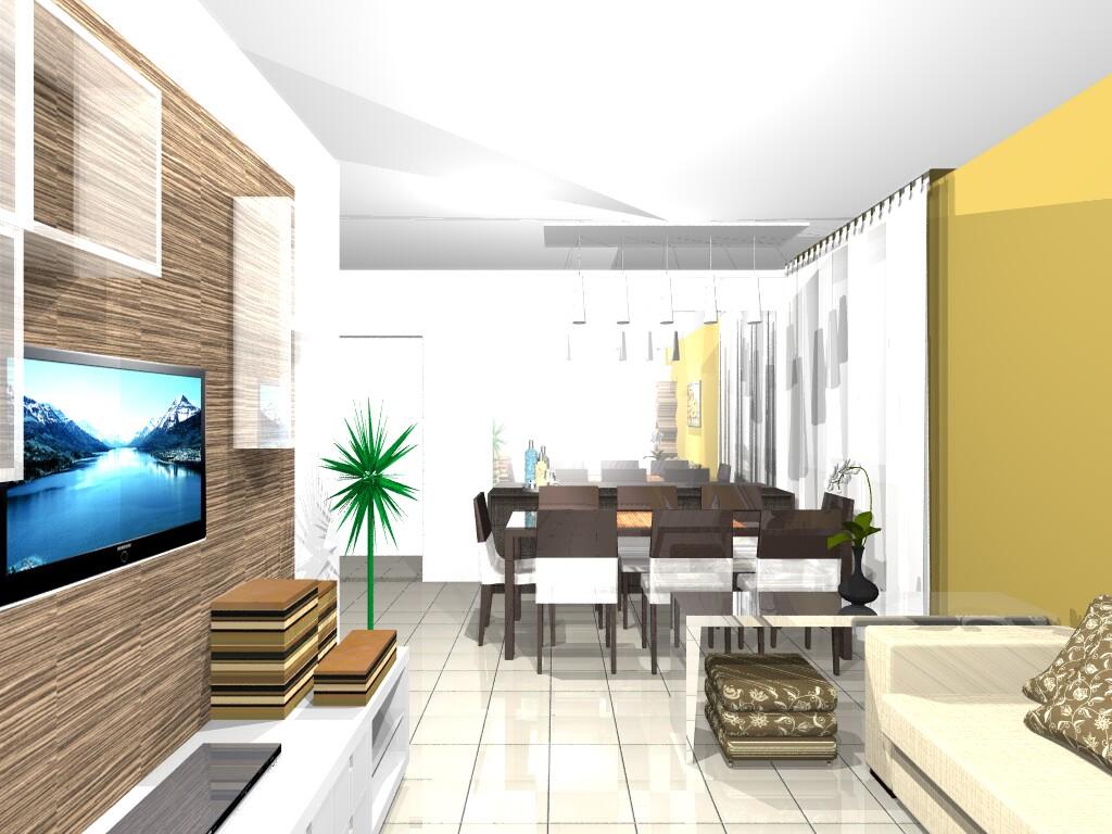 #2C6E9F sala de estar e jantar juntas pequena como decorar uma sala de estar e 1024x768 píxeis em Como Decorar Uma Sala Pequena De Estar E Jantar Juntas