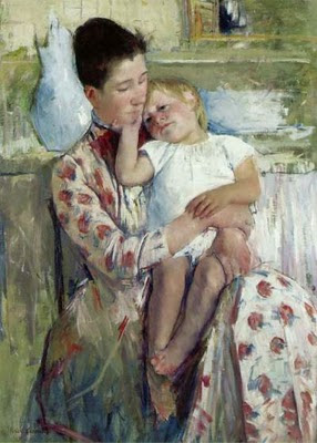 'Mother and child' Mary Cassat