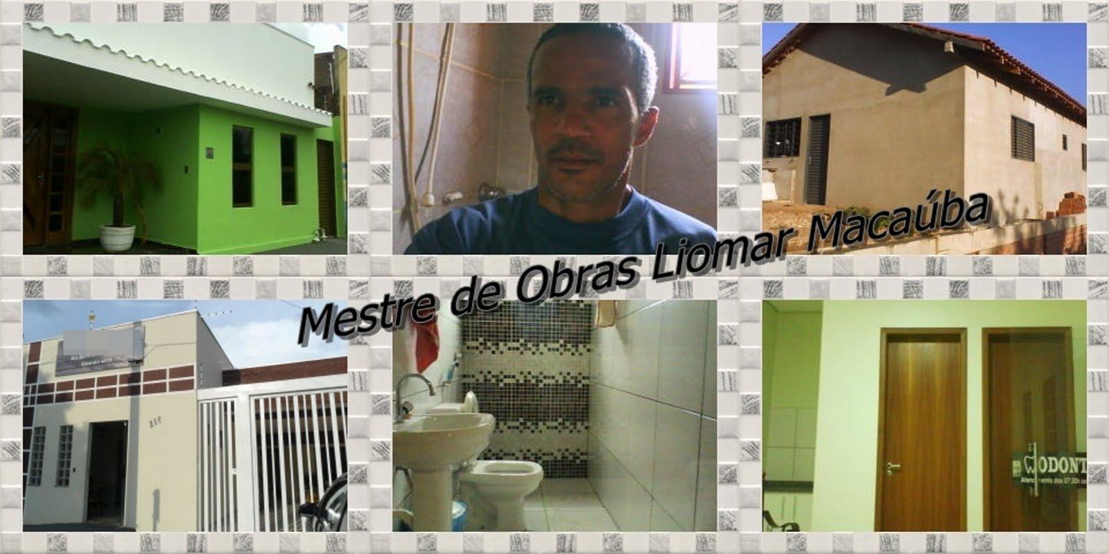Mestre de Obras Liomar Macauba de Rondonópolis-MT