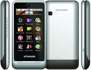 Wynncom Y100 Dual SIM Touchscreen Mobile