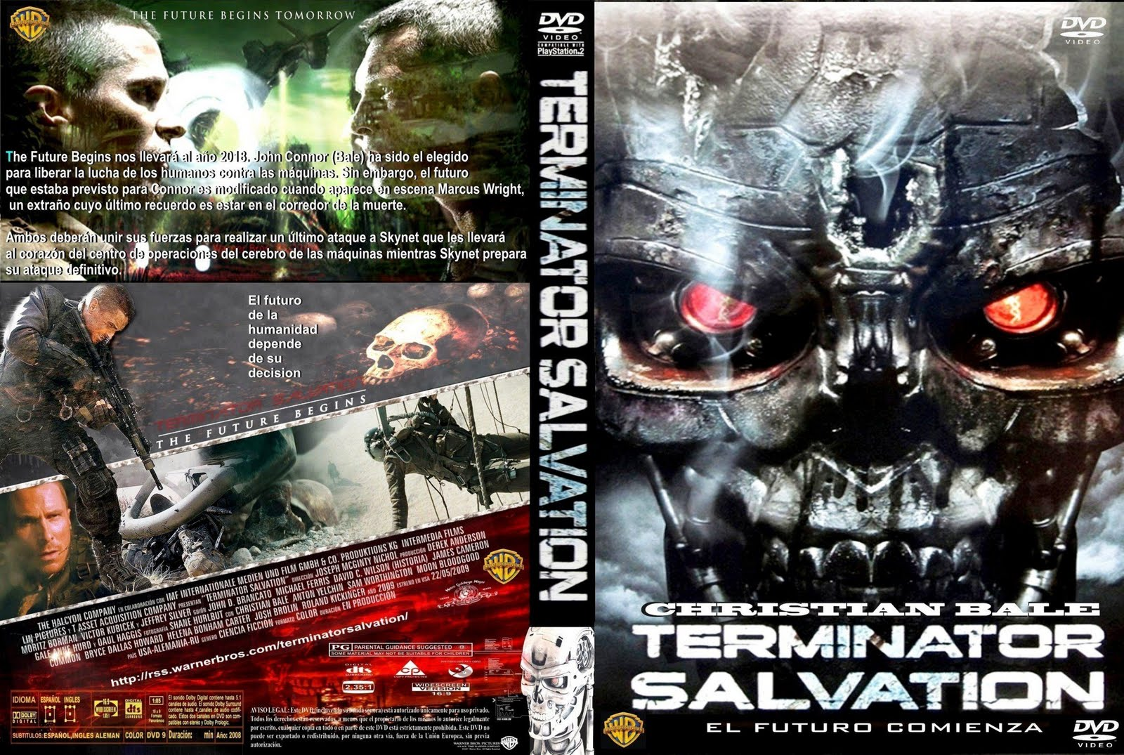 Terminator 4: Salvation 2009   [Latino] (Descargar Gratis)