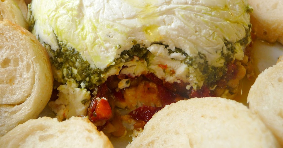 Christine 39 s cuisine goat cheese pesto sun dried tomato for Tomato terrine
