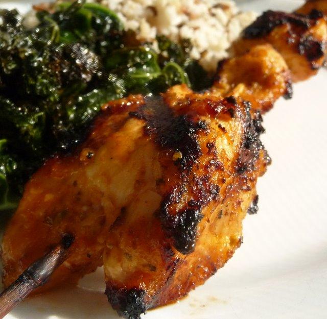 Christine's Cuisine: Persian Chicken Kabobs