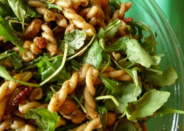 Pasta Shells With Chickpeas And Arugula Recipes — Dishmaps