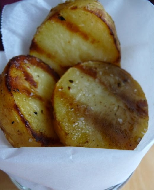 Christine's Cuisine: Grilled Salt and Vinegar Potatoes