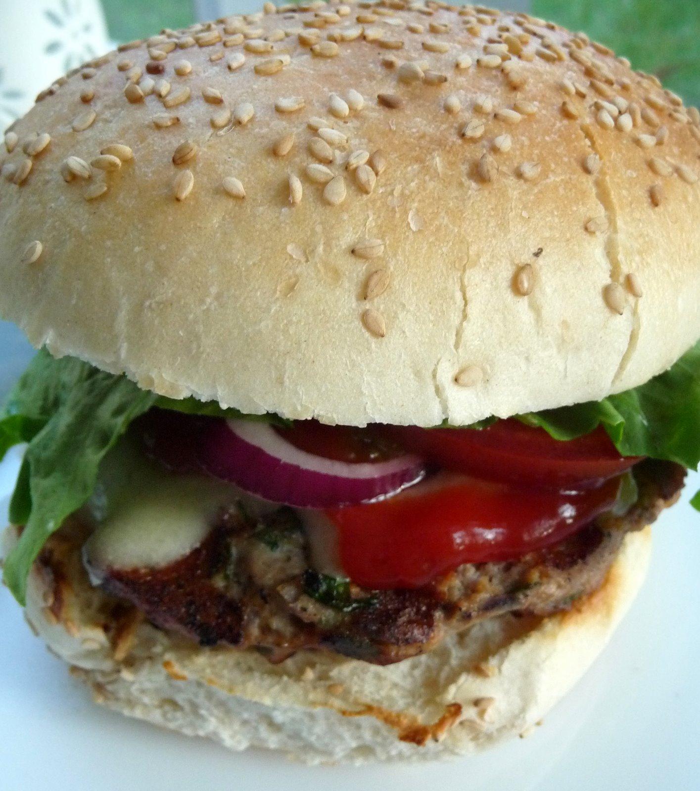 Christine's Cuisine: Herbed Turkey Burgers