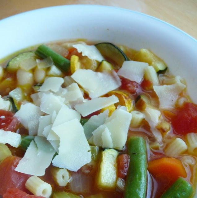 Christine's Cuisine: Roasted Vegetable Minestrone