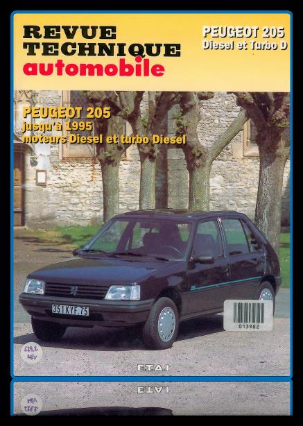 Tlcharger Revue техника Peugeot 205