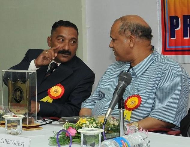 During  Ex-NCC function in Panjim