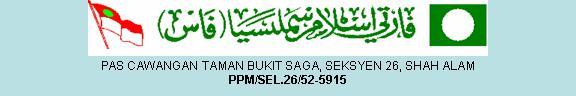 PAS Cawangan Taman Bukit Saga, Seksyen 26, Shah Alam